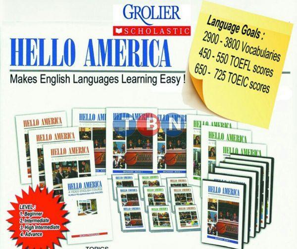 HELLO AMERICA - Grolier