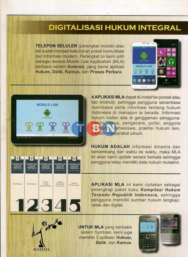 KOMPILASI HUKUM TERPADU REPUBLIK INDONESIA