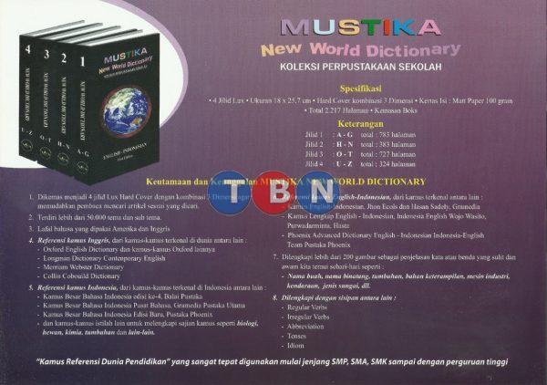 MUSTIKA New World Dictionary