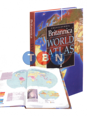 ENCYCLOPEDIA BRITANNICA WORLD ATLAS