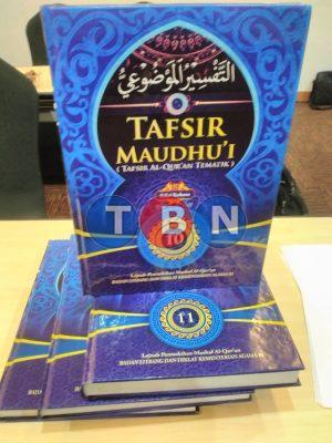 TAFSIR MAUDHUI (TAFSIR AL-QUR'AN TEMATIK) KEMENTERIAN AGAMA RI Edisi Terbaru 2019 - 11 Jilid